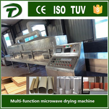 continuous type microwave wood dryer