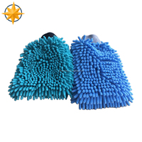 Cheap Car/Mobile Microfiber Wash/Cleaning Mitt/Mitten/Glove