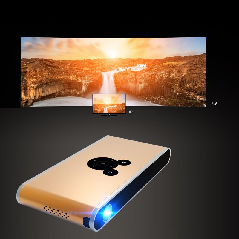 Mini led projector work with smart phones of android ios for Mini projector for ipad best buy