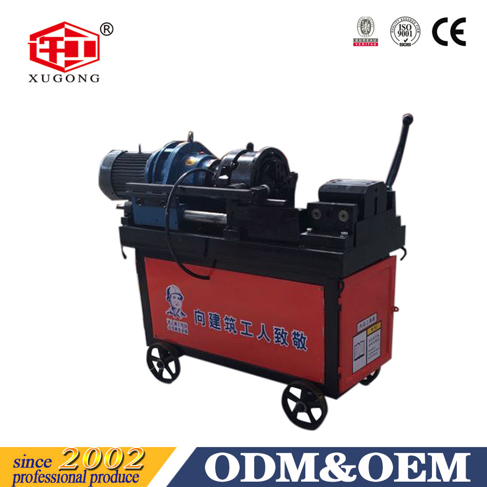 Best Quality Price Standard Portable Cold Used Making Steel Bar Rebar Rib Peeling Parallel Thread Rolling Machine