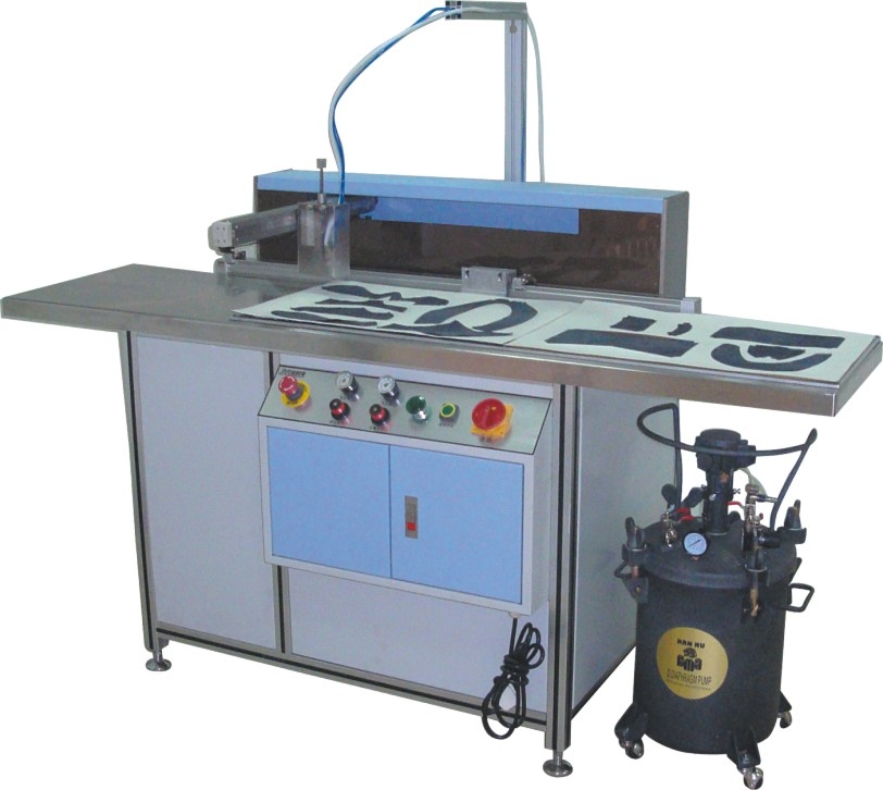 JYL-093 spray glue machine best price for sale