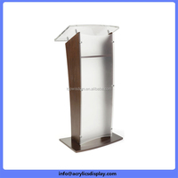 Bottom price Best-Selling acrylic podium church pulpit