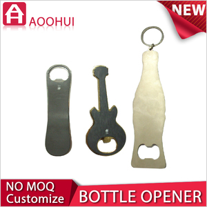 Wholesale Stainless Steel Bottle Opener with prints