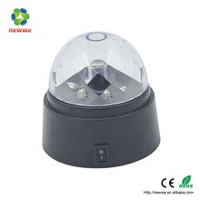 2015 wholesale high quality led party stage light mixed color changing led crystal magic ball light