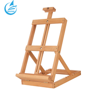 Top Grade Germany Beech Material For Artist Easel Table Fold Easel