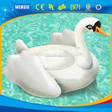 Hottest summer water floats PVC inflatable swan float pizza float