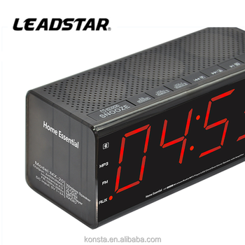 Digital Clock Radio Usb Port,Am/fm Alarm Clock Radio,Giant Alarm ...