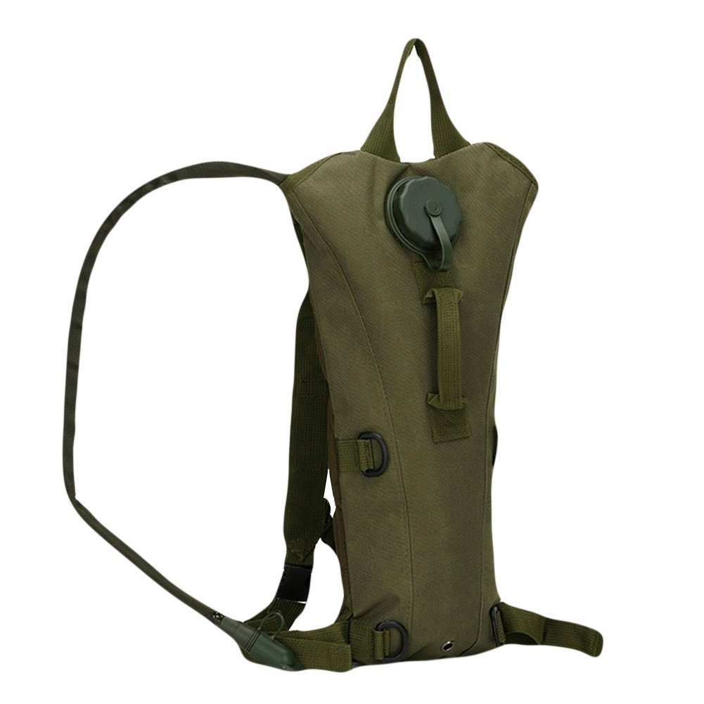 CyberDyer 3L Outdoor Tactical Army Camouflage Water Bag Hydration Backpack For Cycling Hiking Camping Climbing