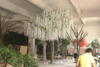 New Design Trees For Indoor Wedding Decoration White Artificial ...