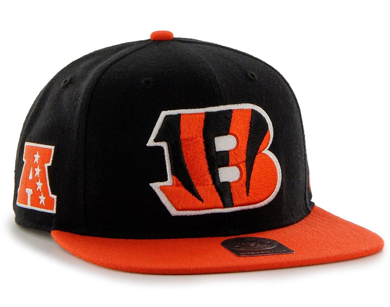 Get Quotations · 47 Brand Cincinnati Bengals Two-Toned Super Shot Mens  Snapback Hat 7208f138d8c4