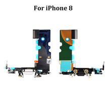 USB Charging Flex Port Connector Flex Cable 대 한 iPhone 8 8 + X