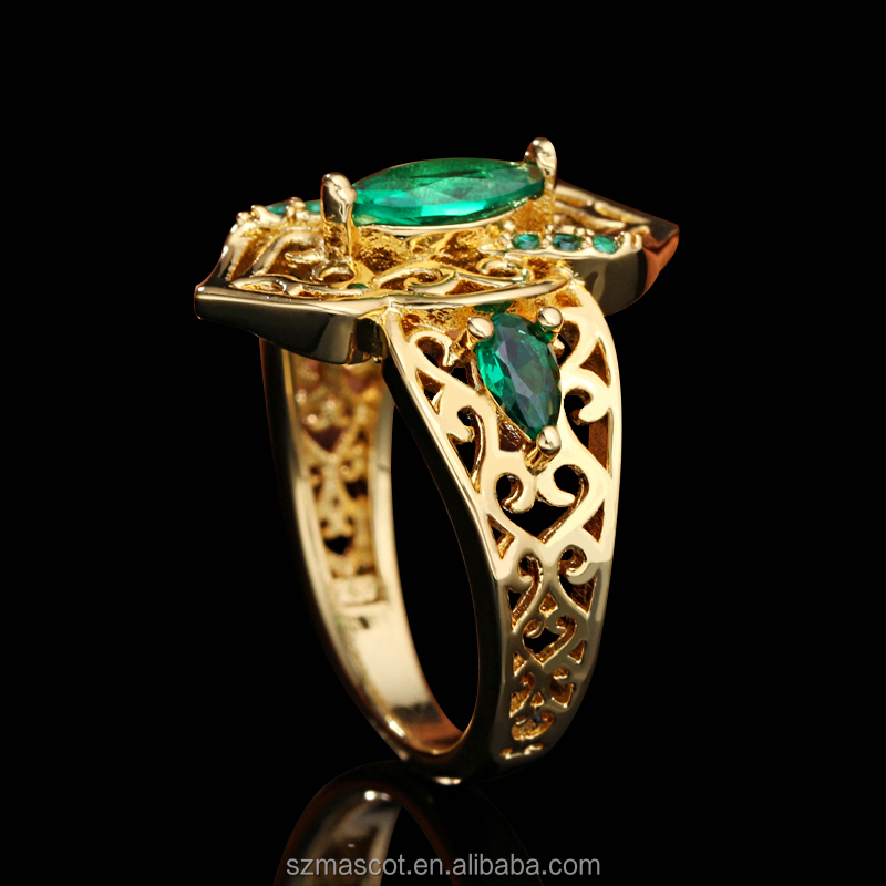 fashion indian ruby bijouterie jewelery ring