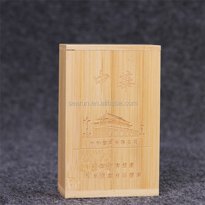 the latest 1ecbd b28a9 Unfinished Wooden Cigarette Case, Wooden Gift Box