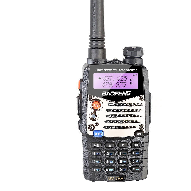 High Tech 5 w Dual Band Ham Radio Transmissor Analógico Baofeng UV5RA