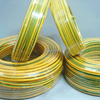 Single Core Pvc Insulated Yellow/green Wire - Buy Green Yellow Earth Wire,Yellow Green Wire,Green Yellow Ground Wire Product on Alibaba.com