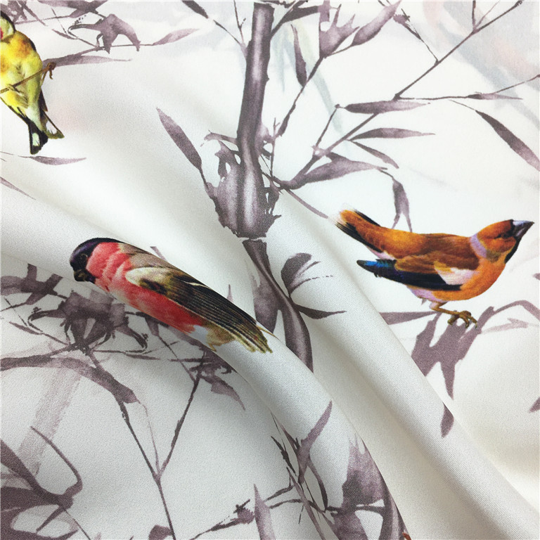 italian fabric silk different types of chiffon fabric prints, digital print habotai silk fabric@