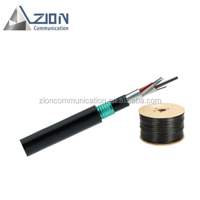 underground gyftzy53 optical fiber cable for network FRP Dual armored <strong>communication</strong> cable