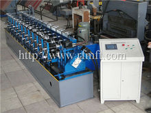 good quality post cutting PLC control C Z purline roll forming machine