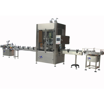 Full automatic glass bottle beverage filling and sealing machine