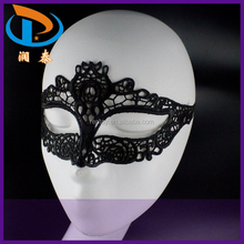 New Arrival Cat Shape Metal Costume Ball Sexy Lace Masquerade Masks