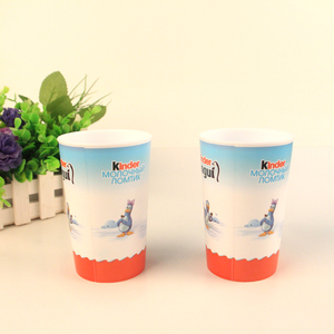 Temperature Sensitive Sedex Smeta 4-pillar Certificate Single Wall Color Changing Drinking Plastic Cup