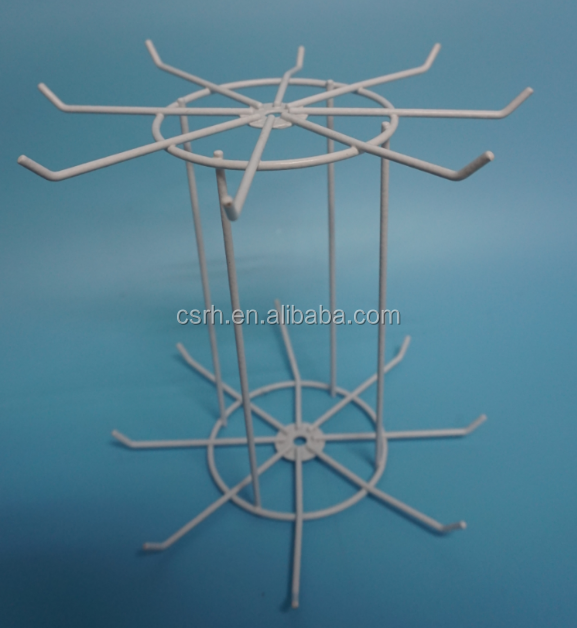 Small Wire Rotating Display Table Rack