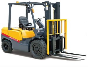 China 2.5t rough terrain forklift with ce