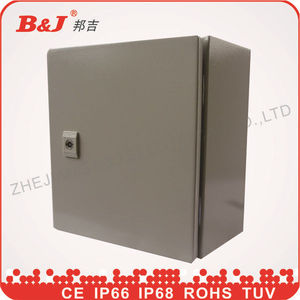 electric enclosure/electrical distribution board ip67/electrical metal box