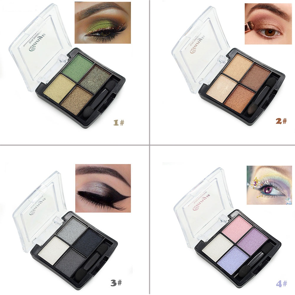 makeup palette 4colors beauty camouflage highlighter makeup private label
