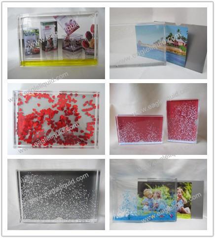 Plastic Acrylic Aqua Photo Frame Water Dome Snow Globe - Buy Plastic ...