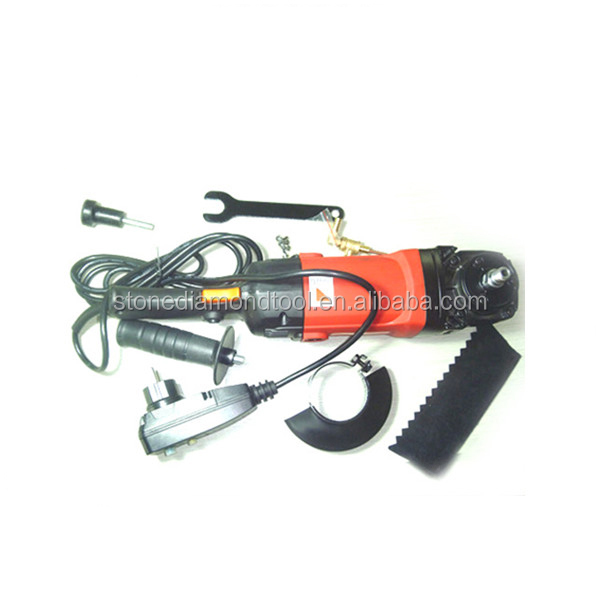 Electric type variable angle grinder, hand held electric tool