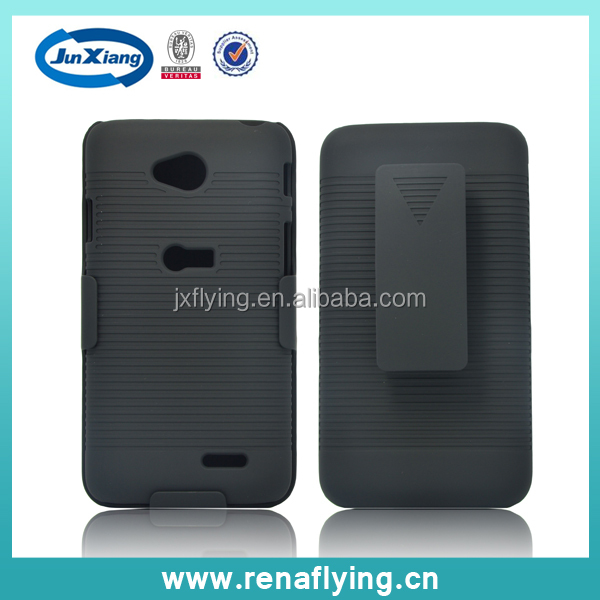 hot selling holster combo case for LG L70 made in China