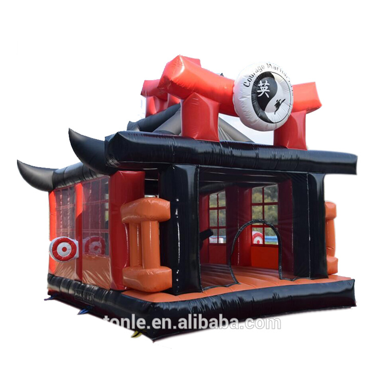 custom inflatable fun city for sale