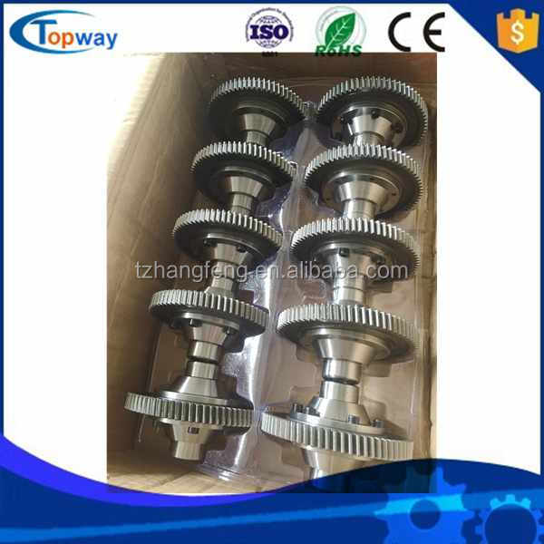 10pcs per carton box forging gear for e-tricycle/rickshaw differential