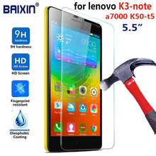 0.3mm Premium Tempered Glass For Lenovo K3 NOTE Screen Protector K3-note a7000 K50-T5 Anti-Explosion anti-Shatter Film
