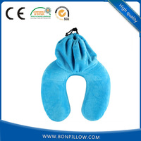 Factory best selling comfortable massage car memory foam travel neck pillow