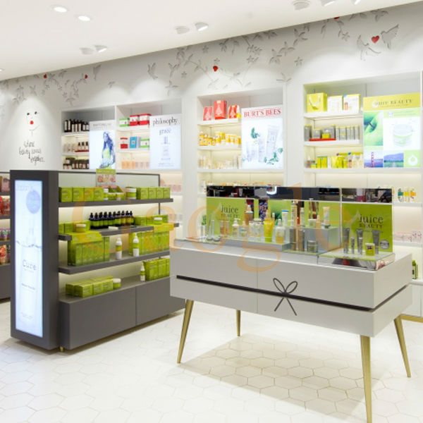 Most Popular Beauty Salon Furniture Cosmetic Display Show