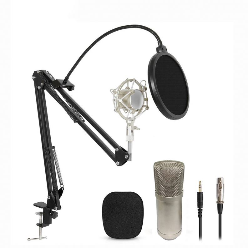 Low Moq Custom Condenser Neewer BM Nw700 Microphone, Black;silver;gold;custom