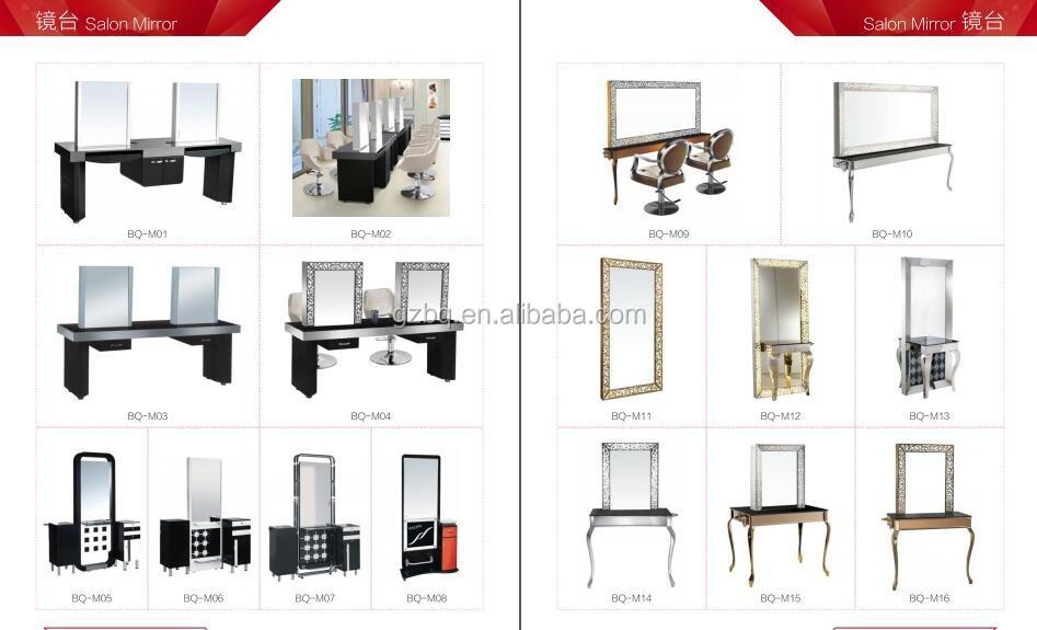 Equipamento do sal o de beleza de alta qualidade esta o for Salon table and mirror