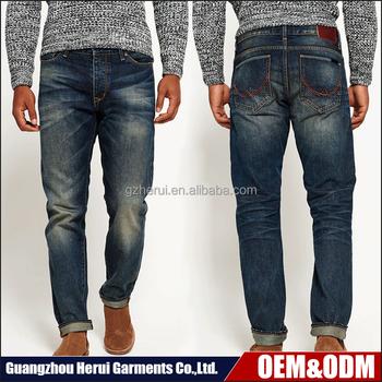 Hot Sale Promotional 100% Cotton Biker Jeans Pants Pent China New ...