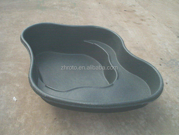 Plastic fish pond mould by rotomolded mold make buy for Garden pond moulds