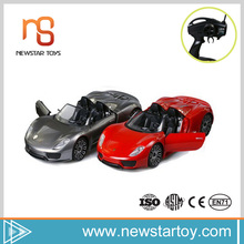 Hot sale radio control high speed fashion 1:14 rc car body for children play