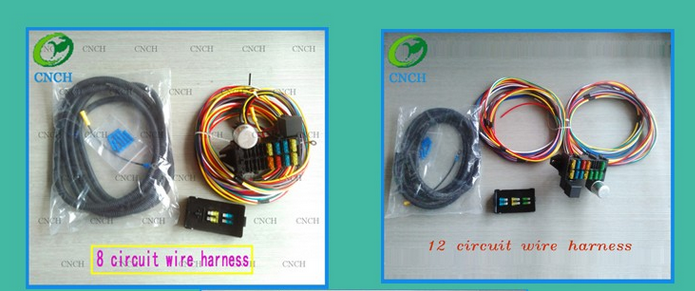 Outstanding Ez Wire 12 Circuit Universal Street Hot Rod Truck Car Wiring Harness Wiring 101 Photwellnesstrialsorg