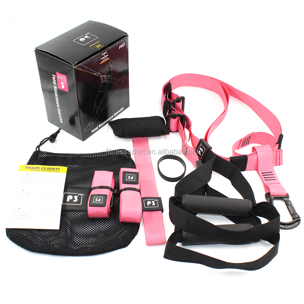 Pro 3 full body suspension straps for training exercise