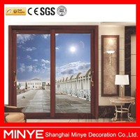 China gold supplier aluminium movable sliding interior door sound proof folding partition wall