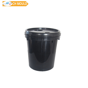 plastic round chemical painting bucket mold for 1 liter