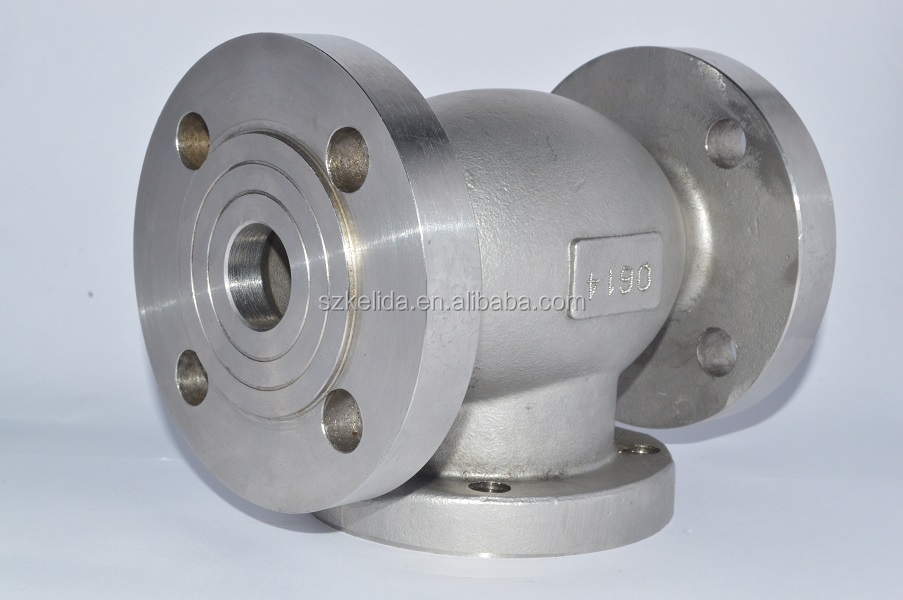 2015 OEM stainless steel pump parts investment castings