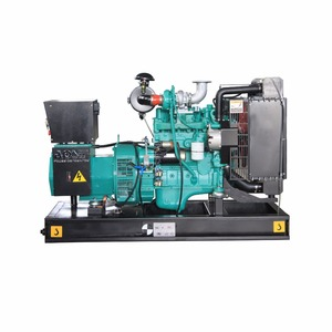 water cooled power genset 55kw / 69kva small diesel generator