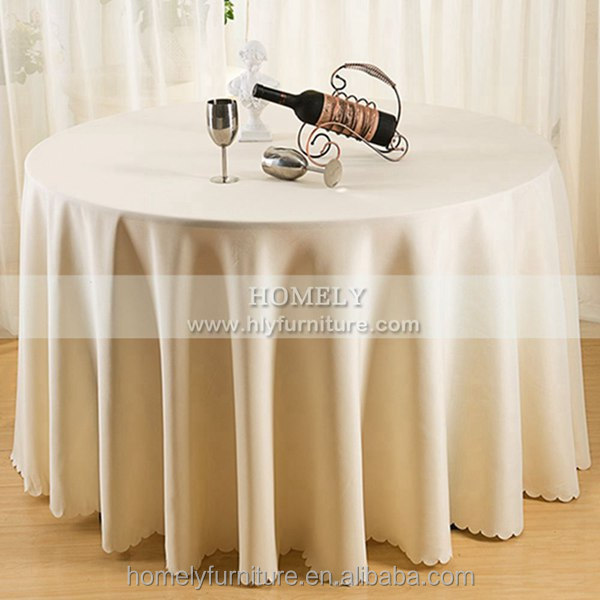 cheap fancy polyester spandex jacquard rosette table cover hotel buffet banquet table linen rectangle round wedding table cloth