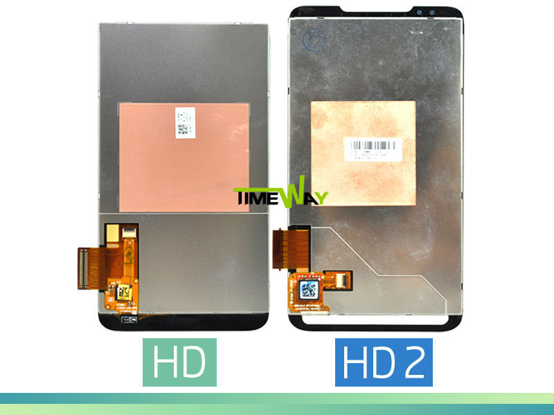 China supplier for htc t8585 hd2 brand new lcd touch screen accessories